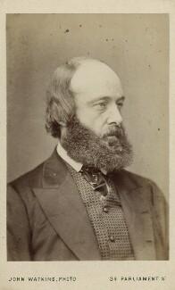 Robert Gascoyne-Cecil, 3rd Marquess of Salisbury, by John Watkins - NPG Ax18276