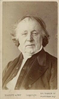 Thomas Binney (Benny), by Elliott & Fry, 1860s - NPG Ax18315 - © National Portrait Gallery, London