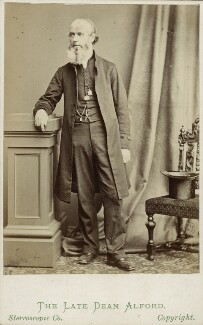 Henry Alford, by London Stereoscopic & Photographic Company, 1860s - NPG Ax18319 - © National Portrait Gallery, London
