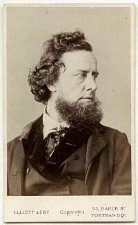 William Hepworth Dixon, by Elliott & Fry - NPG Ax18392
