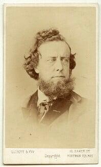 William Hepworth Dixon, by Elliott & Fry - NPG x13465