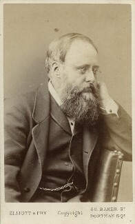 Wilkie Collins, by Elliott & Fry, 1878 - NPG Ax18229 - © National Portrait Gallery, London
