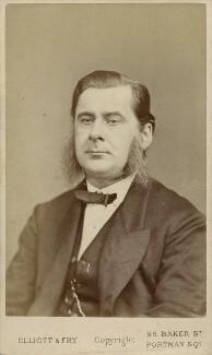 Thomas Henry Huxley, by Elliott & Fry, 1870s - NPG Ax18298 - © National Portrait Gallery, London