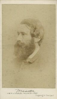 David Mather Masson, by John & Charles Watkins - NPG x21233
