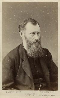 William Edward Forster, by Elliott & Fry - NPG x76404