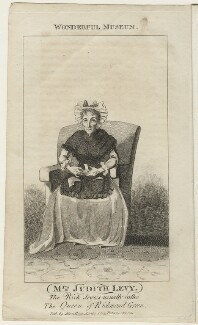 Judith Levy (née Hart), published by Alexander Hogg, after  Unknown artist - NPG D21653