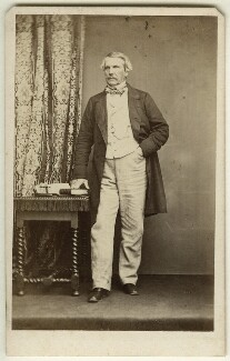 John Laird Mair Lawrence, 1st Baron Lawrence, by John & Charles Watkins - NPG x45204