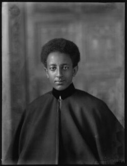 Amha Selassie I, Emperor of Ethiopia as Crown Prince Asfaw Wossen, by Bassano Ltd - NPG x150142