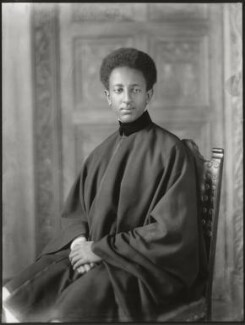 Amha Selassie I, Emperor of Ethiopia as Crown Prince Asfaw Wossen, by Bassano Ltd - NPG x150143