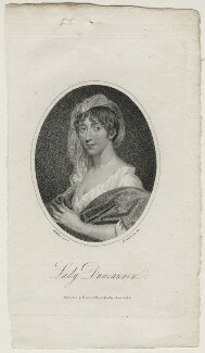 Henrietta Frances ('Harriet') Ponsonby (née Spencer), Countess of Bessborough, by Mackenzie, published by  Vernor & Hood, after  Walker - NPG D21655