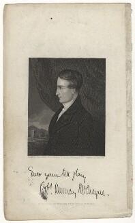 Robert Murray McCheyne, by John Le Conte, after  Hope James Stewart - NPG D21660