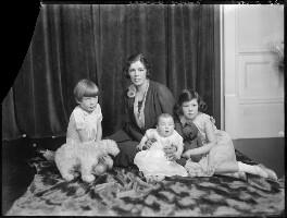 The Barnes family, by Bassano Ltd - NPG x150156