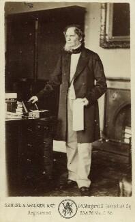 Edward Stanley, 14th Earl of Derby, by Samuel Alexander Walker, 1860s - NPG x45347 - © National Portrait Gallery, London
