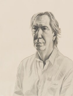 Alan Rickman, by Stuart Pearson Wright, 2004-2005 - NPG 6758 - © National Portrait Gallery, London