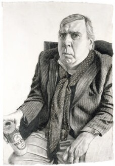 Timothy Spall, by Stuart Pearson Wright, 2005 - NPG 6759 - © National Portrait Gallery, London
