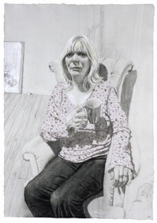 Alison Steadman, by Stuart Pearson Wright, 2004-2005 - NPG  - © National Portrait Gallery, London