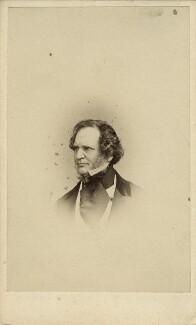 Edward Stanley, 14th Earl of Derby, by William Edward Kilburn, published by  Mason & Co (Robert Hindry Mason), published March 1861 - NPG x12894 - © National Portrait Gallery, London
