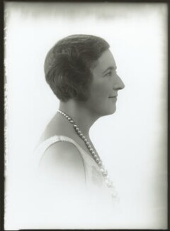 Agatha Christie, by Bassano Ltd - NPG x30729