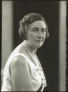 Agatha Christie, by Bassano Ltd - NPG x30728
