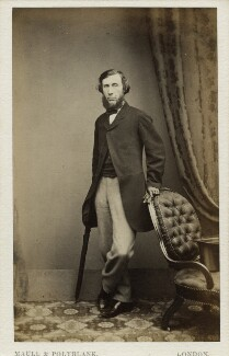 John Tyndall, by Maull & Polyblank - NPG x45495