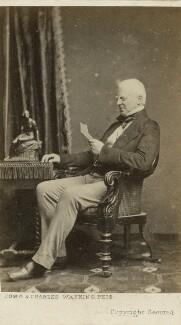 Robert Lowe, 1st Viscount Sherbrooke, by John & Charles Watkins, or by  John Watkins - NPG x76509