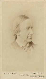 Sir Charles Hallé (né Carl Halle), by Elliott & Fry, 1870s - NPG x17308 - © National Portrait Gallery, London