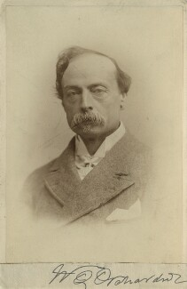 Sir William Quiller Orchardson, by Elliott & Fry, 1880s? - NPG x12617 - © National Portrait Gallery, London