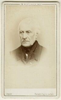 François Pierre Guillaume Guizot, by Charles Reutlinger - NPG x74567