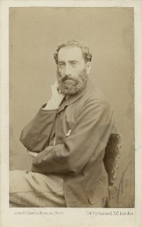 Philip Hermogenes Calderon, by John & Charles Watkins, 1864 - NPG Ax7560 - © National Portrait Gallery, London