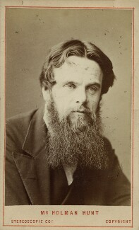 William Holman Hunt, by London Stereoscopic & Photographic Company - NPG Ax39942