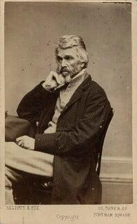 Thomas Carlyle, by Elliott & Fry - NPG Ax39829