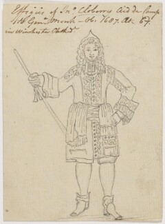 Sir John Cloberry, after Sir William Wilson, (circa 1687) - NPG D22547 - © National Portrait Gallery, London