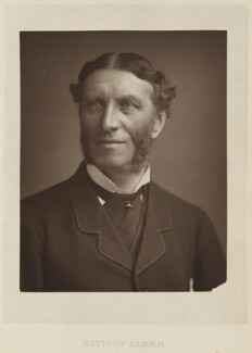 Matthew Arnold, by Elliott & Fry, published by  Bickers & Son - NPG Ax27807