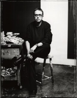 Callum Innes, by Norman McBeath - NPG x128270