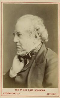 Richard Monckton Milnes, 1st Baron Houghton, by London Stereoscopic & Photographic Company - NPG Ax28452