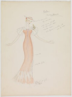 Louise Browne (costume design for Louise Browne for the revue 'After Dark'), by Hedley Gawthorne Briggs, 1933 - NPG  - © reserved; collection National Portrait Gallery, London