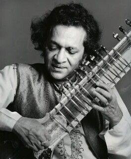 Ravi Shankar, by Francesco Scavullo - NPG x128287