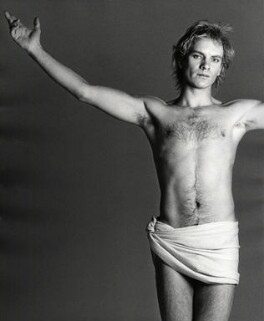 Sting, by Francesco Scavullo - NPG x128288