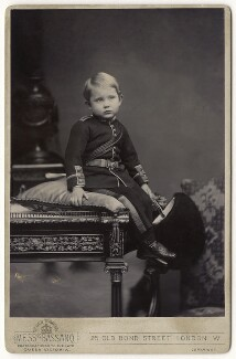 Prince Arthur of Connaught, by Alexander Bassano - NPG x128290