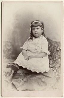 Effie Brook Armstrong, by Metcalf & Welldon (Weldon), March 1880 - NPG Ax128350 - © National Portrait Gallery, London