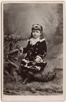 Effie Brook Armstrong, by Metcalf & Welldon (Weldon), March 1880 - NPG Ax128351 - © National Portrait Gallery, London