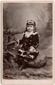 Effie Brook Armstrong, by Metcalf & Welldon (Weldon), March 1880 - NPG Ax128351 - © National Portrait Gallery, London