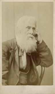 Samuel Hollyer Sr, by Frederick Hollyer - NPG Ax128394