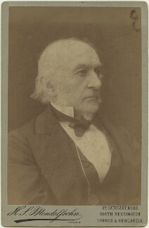 William Ewart Gladstone, by Hayman Seleg Mendelssohn - NPG x128428