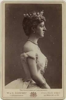 Theresa Susey Helen (née Talbot), Marchioness of Londonderry, by W. & D. Downey - NPG x128440