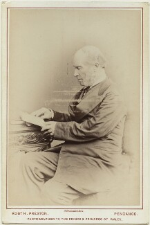 Sir Warington Wilkinson Smyth, by Robert Hawker Peniel Preston - NPG x128459