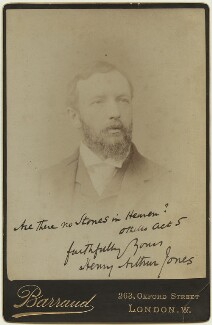 Henry Arthur Jones, by Herbert Rose Barraud - NPG x128433