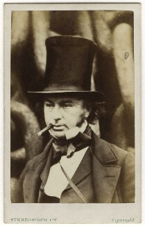 Isambard Kingdom Brunel, by Robert Howlett, published by  London Stereoscopic & Photographic Company, November 1857 - NPG x4836 - © National Portrait Gallery, London