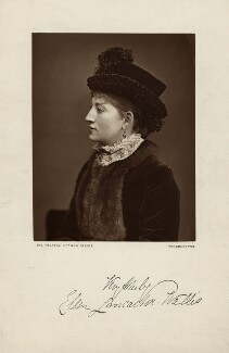 Ellen Lancaster Wallis (Mrs Walter Reynolds), by Lock & Whitfield, published by  Wyman & Sons - NPG x27244