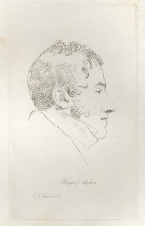 Henry William Paget, 1st Marquess of Anglesey, by Mary Dawson Turner (née Palgrave), after  Sir Francis Leggatt Chantrey - NPG D22559